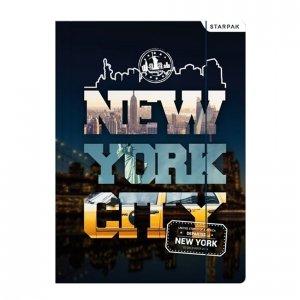 Teczka rysunkowa A4 z gumką NOWY JORK (397701)