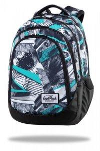 Plecak CoolPack DRAFTER 28 L czarne wzory, INK PRINT (C05170)