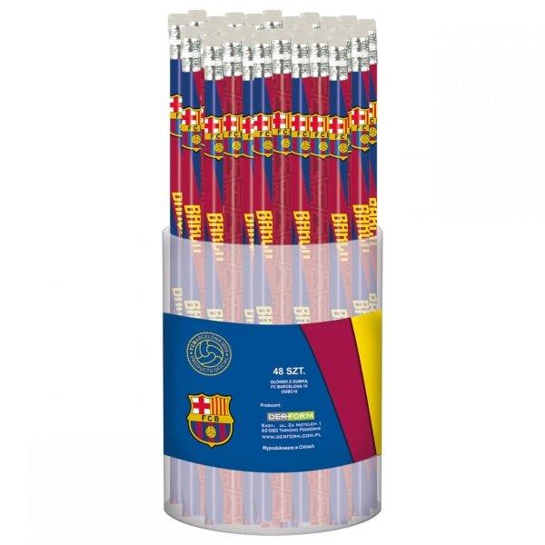 Ołówek z gumką HB FC BARCELONA (OGBC10)
