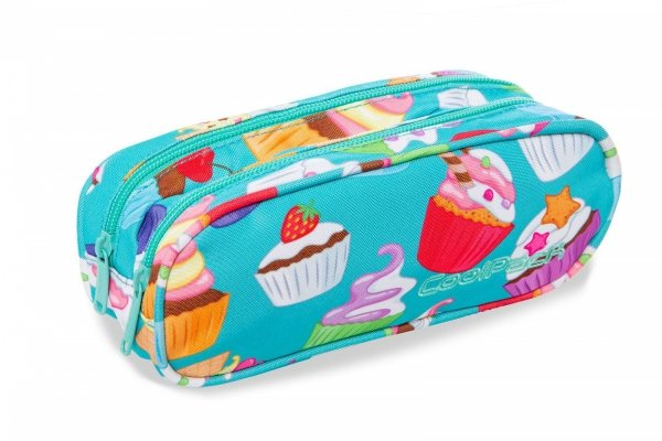Piórnik CoolPack CLEVER muffinki CUPCAKES (95969)