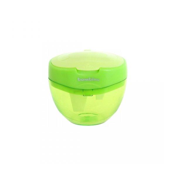 Temperówka potrójna plastikowa z pojemnikiem BAMBINO (03042)