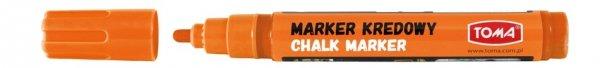 MARKER kredowy zmywalny TOMA, pomarańczowy (TO-292)
