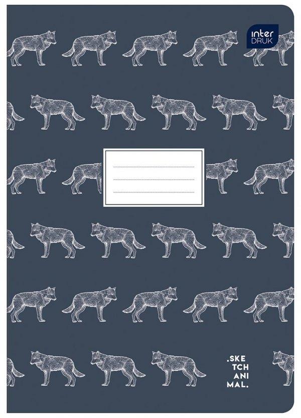 Zeszyt A5 80 kartek gładki MIX CHŁOPIĘCY (72457)