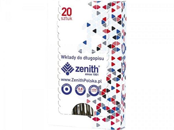 Wkład do długopisu, niebieski ZENITH (11042002 )
