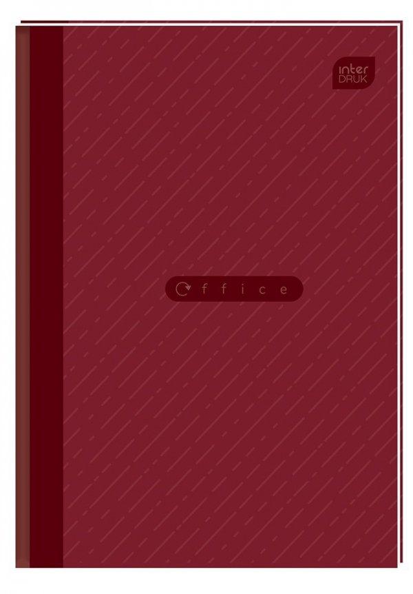 Brulion A5 96 kartek w kratkę, twarda oprawa OFFICE (94111)