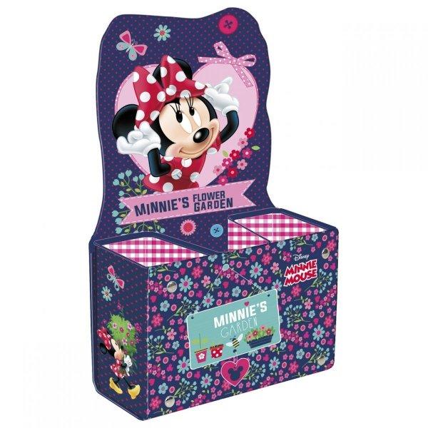 Biurkowy pojemnik na przybory szkolne Myszka Minnie, Disney (PPSMM)