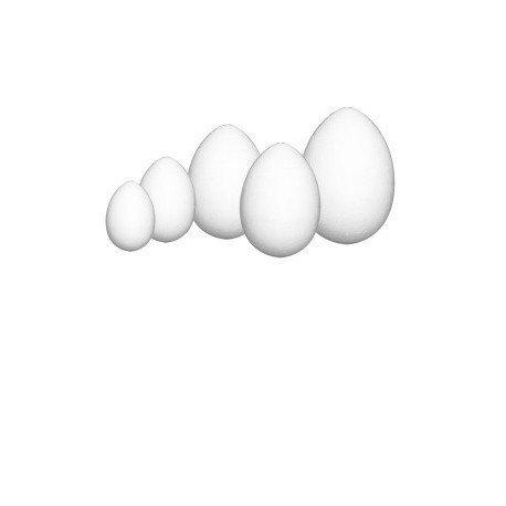 Jajko wielkanocne jajka styropianowe 12 cm (402958)