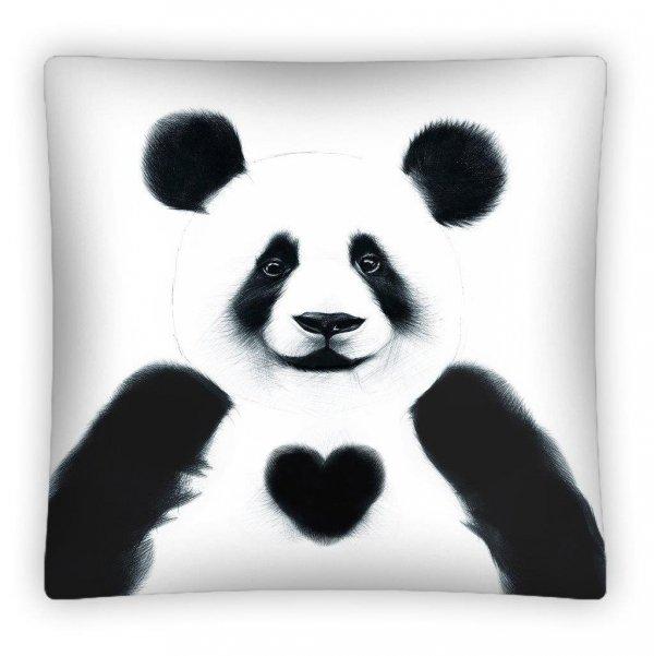 Poszewka na poduszkę 3D PANDA 40 x 40 cm (PS0012)