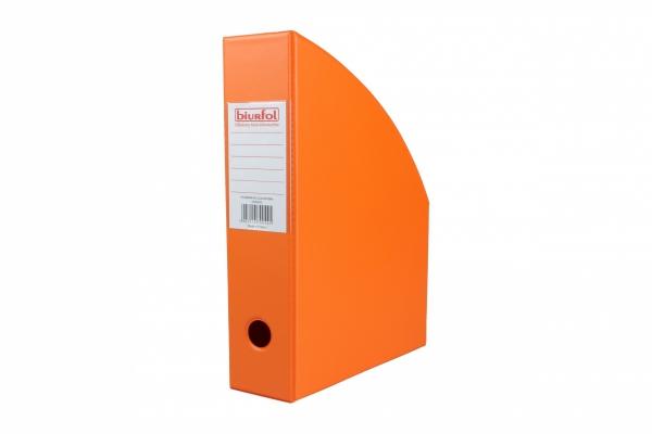 Pojemnik na dokumenty Segregator PVC POMARAŃCZOWY 7 cm (00441)