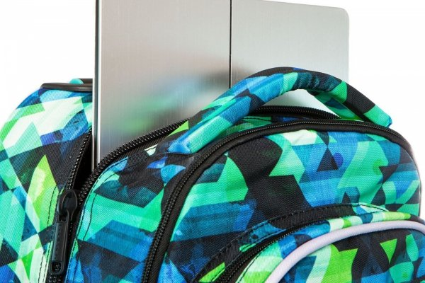 Plecak CoolPack LED JUNIOR na kółkach KALEIDOSCOPE (96928)