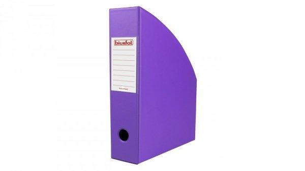 Pojemnik na dokumenty Segregator PVC FIOLETOWY 7 cm (00458)