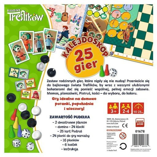 TREFL Gra planszowa Rodzina Treflików (01678)