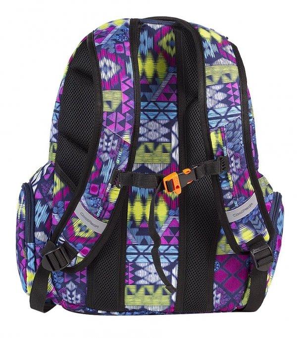 Plecak CoolPack SPARK fioletowy w etniczne wzory TRIBAL 510 (60608)