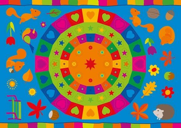 Kolorowanka z naklejkami OPOWIEŚCI O ZWIERZĘTACH WIEWIÓRKA BASIA 3+ (43324)