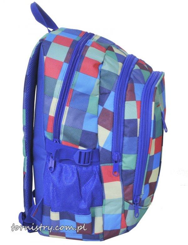 Plecak szkolny młodzieżowy KRATA (151827D)