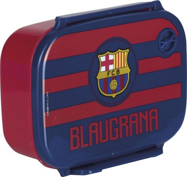 Zestaw bidon i śniadaniówka FC BARCELONA (B+Ś)