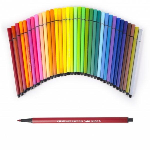 Pisaki 36 kolorów KIDEA (PI36KA)