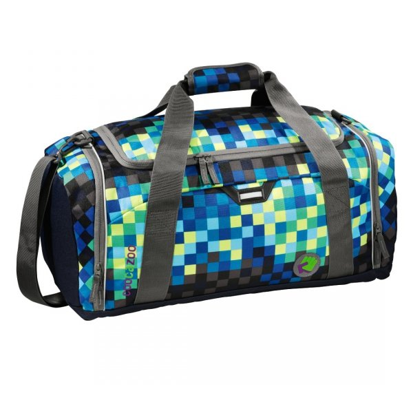 "Coocazoo torba sportowa ""SporterPorter Large"" Deep Jungle Check (124800)"
