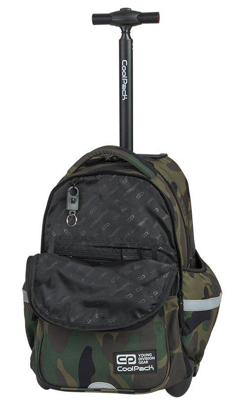 9dd41ae952d9 Plecak szkolny młodzieżowy na kółkach COOLPACK JUNIOR klasyczne moro ...