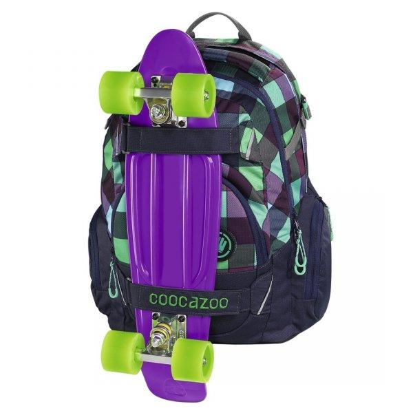 Plecak Coocazoo CarryLarry 2 MatchPatch, Green Purple District (138740)