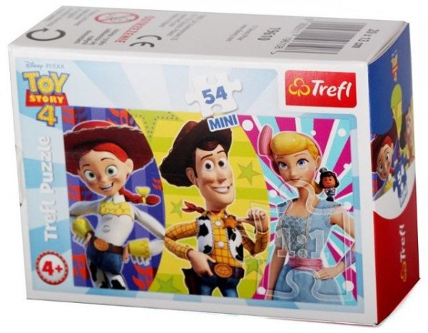 TREFL Puzzle mini 54 el. Wesoły świat Toy Story (19610)