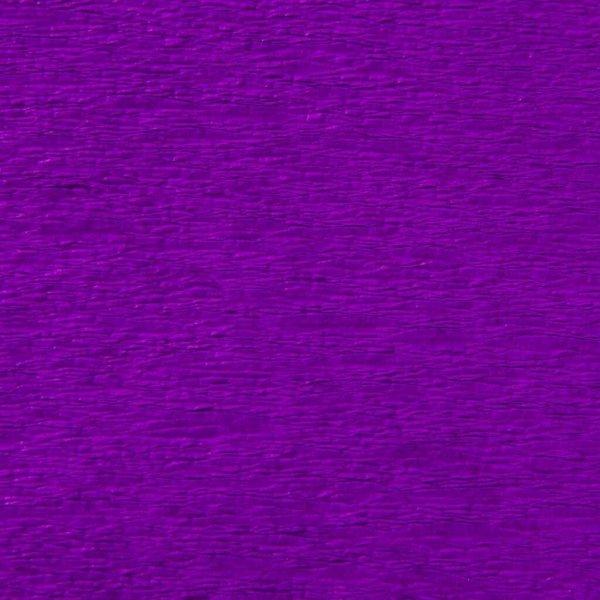 Bibuła marszczona krepa PURPUROWA