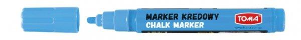 MARKER kredowy zmywalny TOMA, niebieski (TO-292)