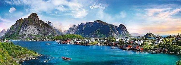 TREFL Puzzle 500 el. PANORAMA Archipelag Lofoty, Norwegia (29500)