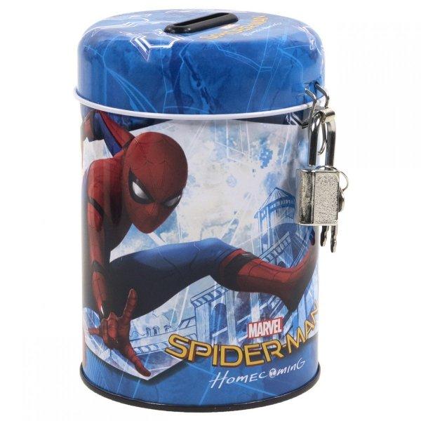 Skarbonka z kłódką SPIDER-MAN HOMECOMING (SKSH11)