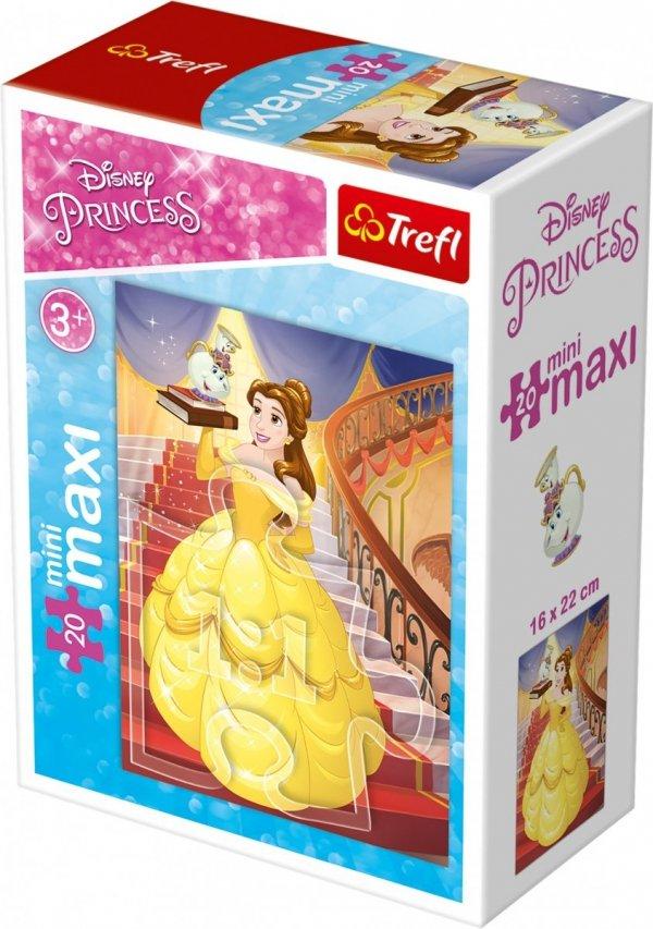 TREFL Puzzle miniMaxi 20 el. Księżniczki Bella (21018)