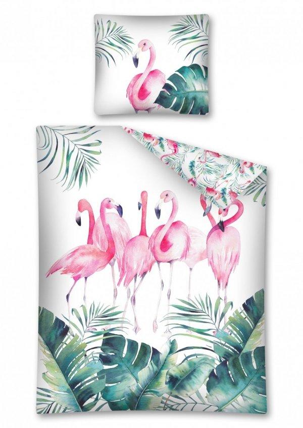 Komplet pościeli pościel FLAMINGO Flaming 160 x 200 cm (2915)