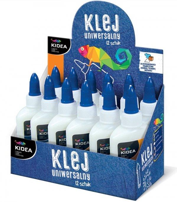 Klej szkolny w płynie 60 g KIDEA (KP60KAD)
