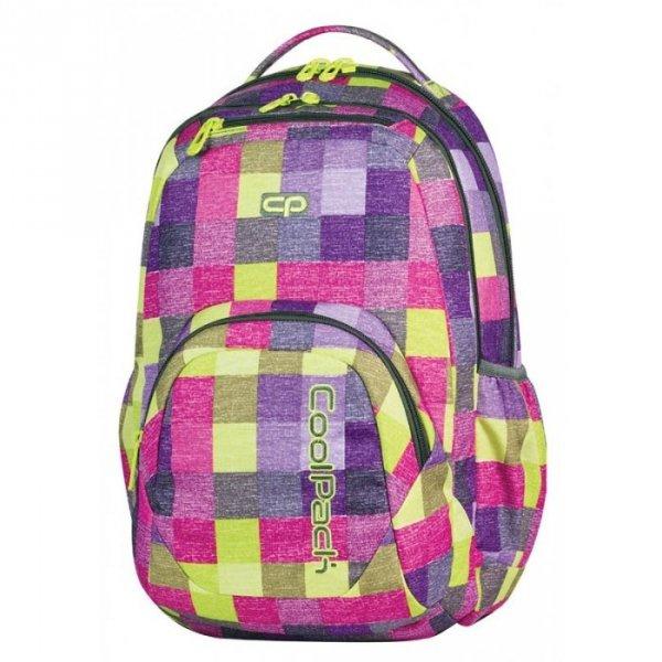 Plecak CoolPack SMASH w kolorową kratę, Multicolor Shades (63913CP)