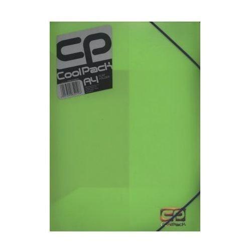 Teczka na dokumenty A4 CoolPack JASNY ZIELONY NEON (52108)