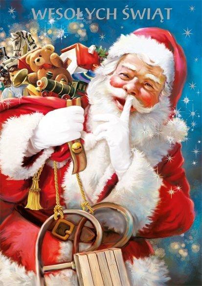 Kartka świąteczna BOŻE NARODZENIE 12 x 17 cm + koperta (28101)