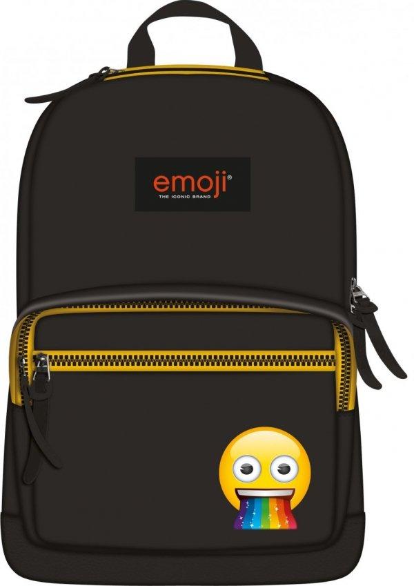 Plecak miejski ST.RIGHT młodzieżowy czarny, Emoji Rainbow EMOTIKONY BP46 (42113)