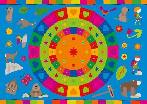 Kolorowanka z naklejkami OPOWIEŚCI O ZWIERZĘTACH ŚWISTAK ZĄBEK 3+ (43324)