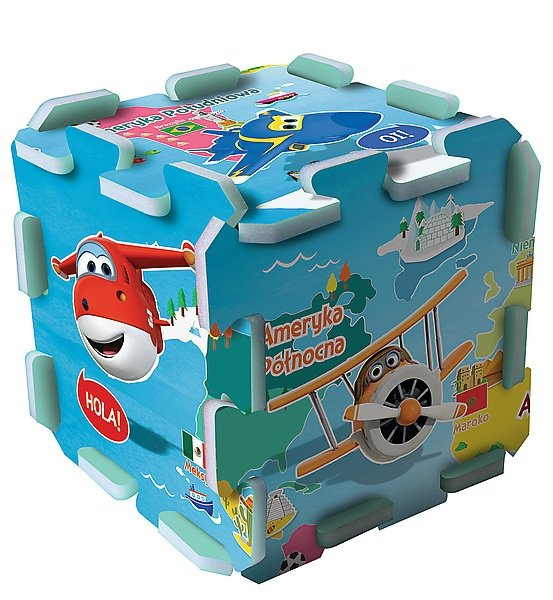 TREFL Puzzle piankowe Puzzlopianka Super Wings (61038)