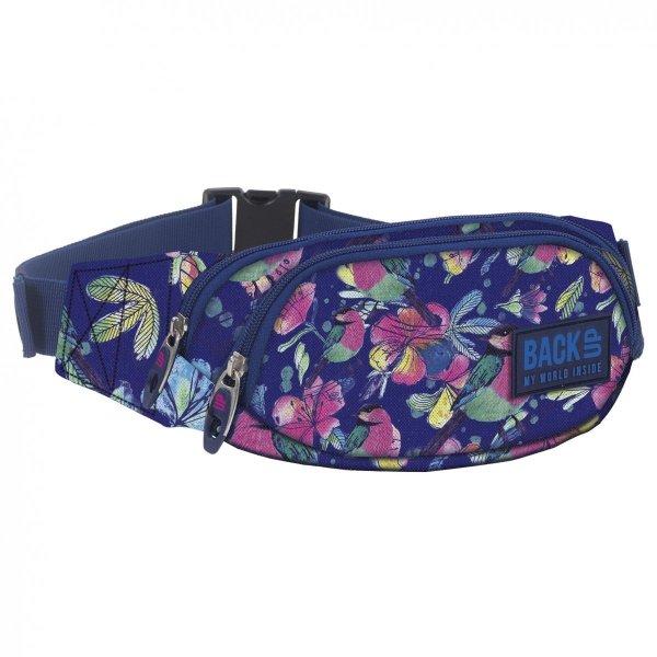 SASZETKA NERKA Back UP na pas torba pastelowe kwiaty SPRING (TBB1A4)