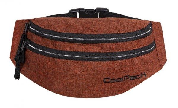 SASZETKA NERKA CoolPack na pas torba MADISON pomarańczowa, SNOW BRICKY/SILVER (88503CP)