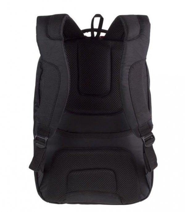 Plecak biznesowy CoolPack ZENITH czarny z czerwonymi dodatkami BLACK (12782CP)