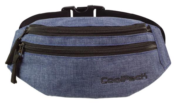 SASZETKA NERKA CoolPack na pas torba MADISON niebieska, SNOW BLUE 860 (76302)