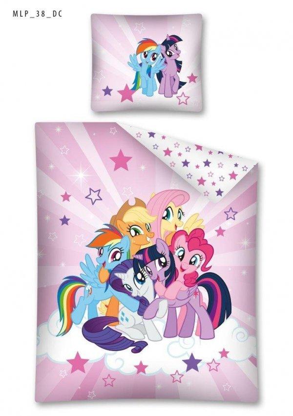 Komplet pościeli pościel My Little Pony Kucyki 140 x 200 cm (MLP38)