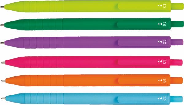 Długopis SWIFT COLOR wkład fioletowy PATIO (66303PTR)