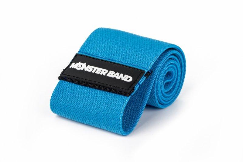 Guma do ćwiczeń z materiału - Monster Band Niebieski