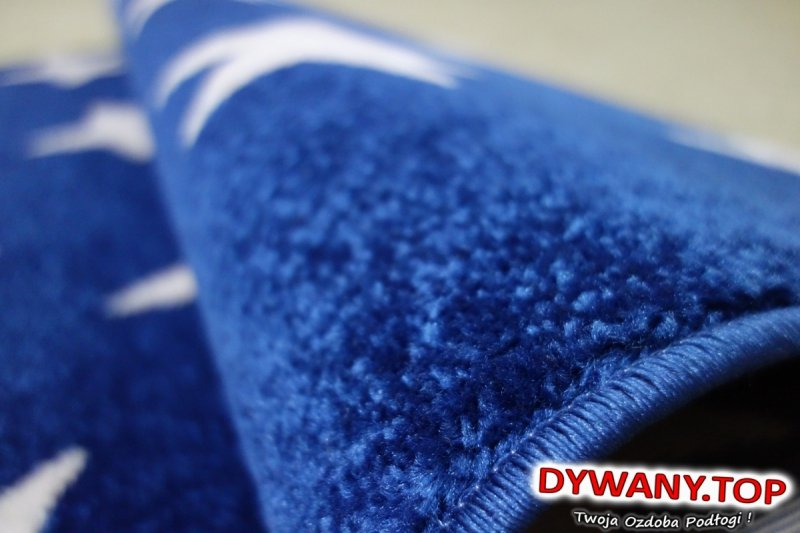 SKETCH niebieski dark blue/n.cream gwiazdki
