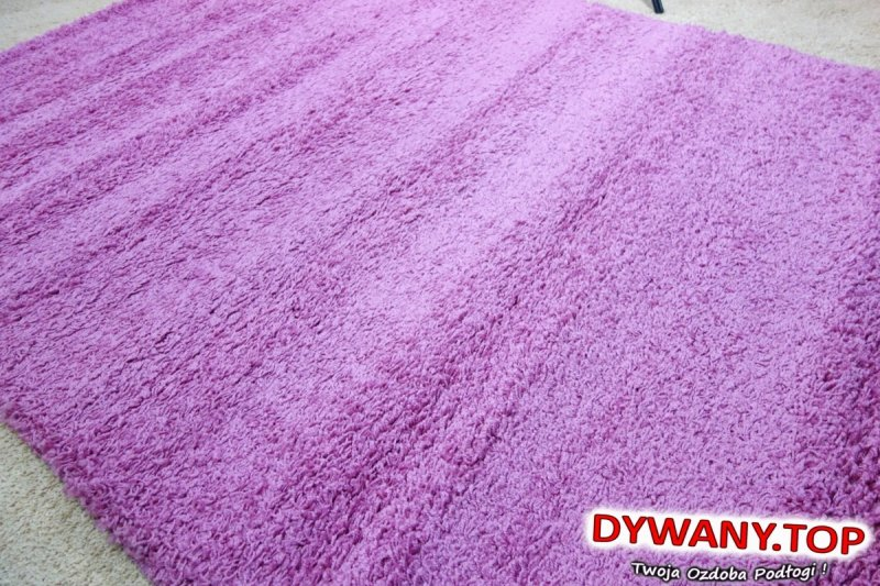 SHAGGY PINK różowe 160x220