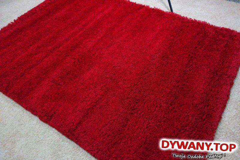 MADONNA KIRMIZI czerwona shaggy 160x220
