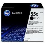 HP oryginalny toner CE255X, black, 12500s, HP 55X, HP LaserJet P3015, LaserJet Pro 500 MFP M521dn