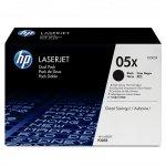 HP oryginalny toner CE505XD, black, 13000 (2x6500)s, HP 05X, high capacity, HP LaserJet P2055, Dual pack, 2szt